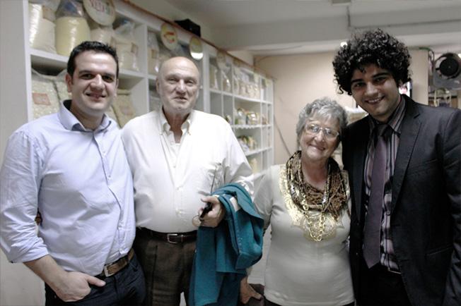 Todo mundo é bem recebido no Piazza Zini, sempre no melhor estilo italiano!
