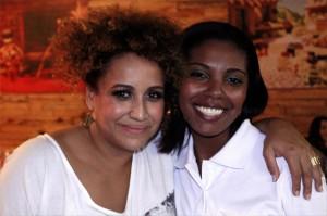 Graça Cunha e Gislaine (colaboradora Zini)