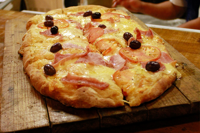 Pizzas Italianas deliciosas e integrais!