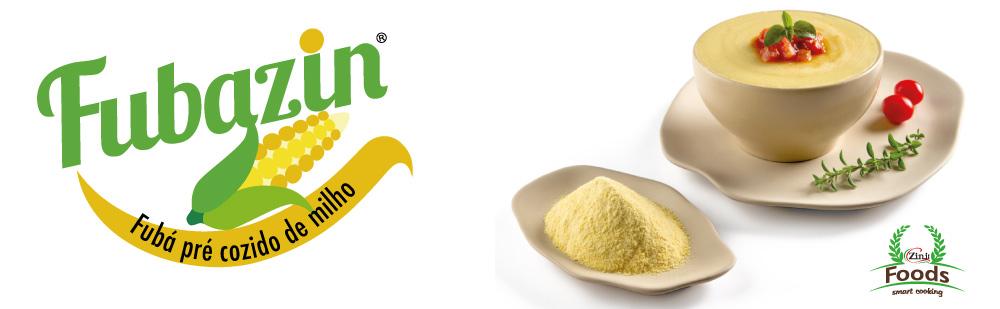 Fubazin é um fubá para polenta cremosa e de rápido preparo.