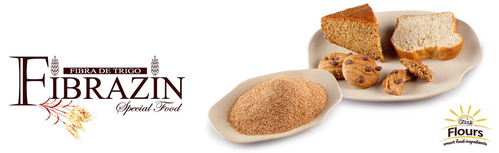 Fibrazin - A primeira farinha de trigo termolizada sem amargor.