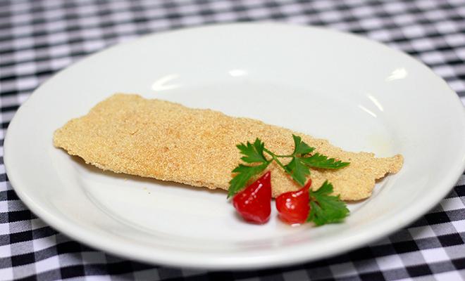 Empanado com Fioccopan fica sequinho e crocante