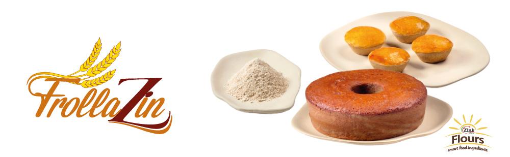 FROLLAZIN - farinha instantânea 100% integral 100% Termolizada.