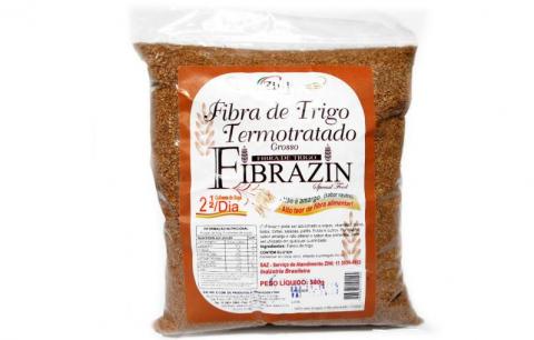 Fibrazin®: Fibra de trigo termo-inativada e sem amargor.