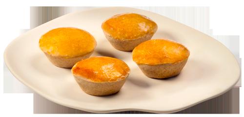 Frollazin®: Farinha de trigo  integral e termolizada.