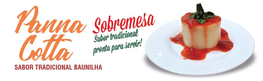 Pannacotta - Sobremesa Sabor Baunilha!