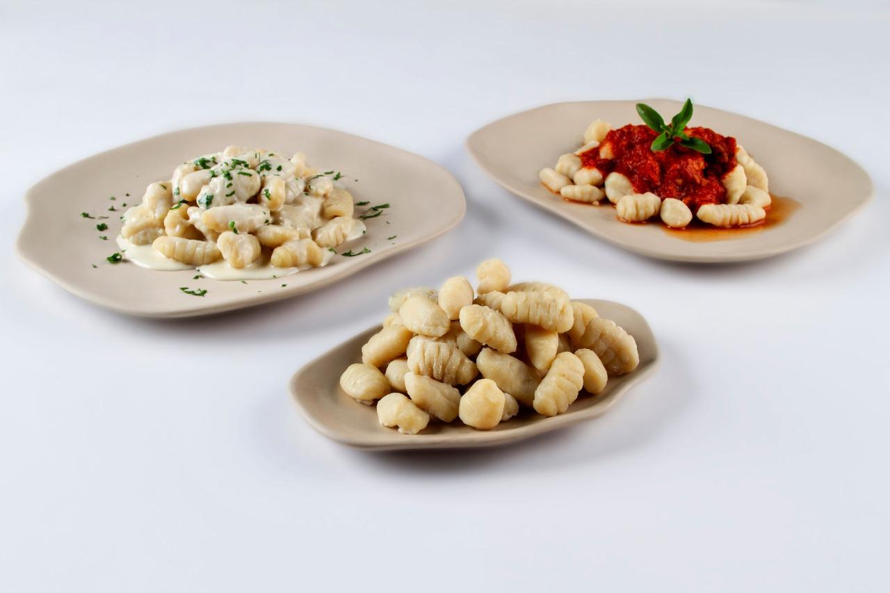 Gnocchi Milano - Serve bem com qualquer molho